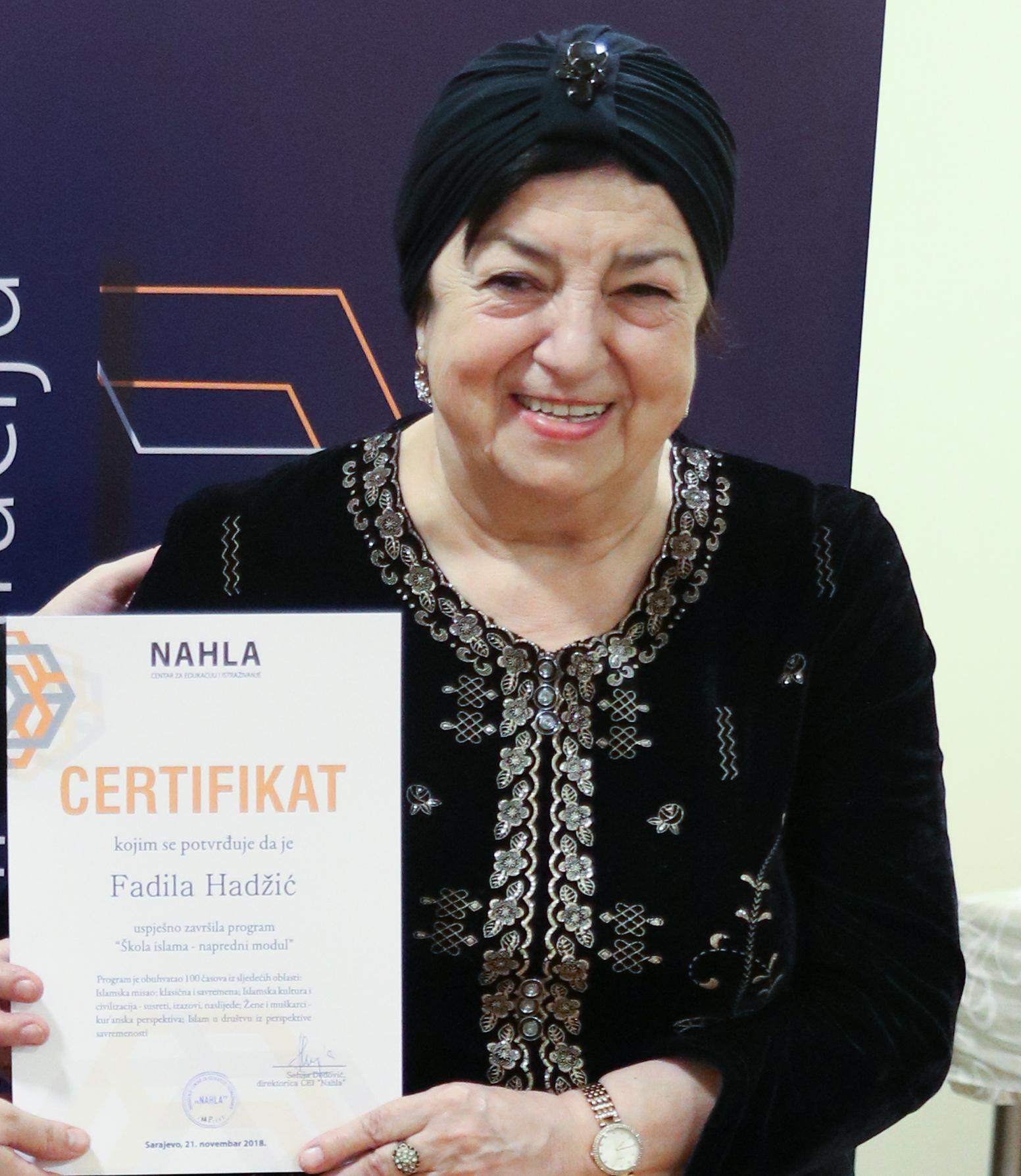 Fadila Hadžić, 72
